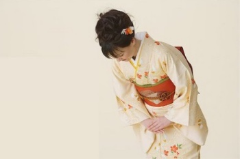 Japanese Lady bowing